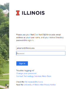 Illinois Identity window